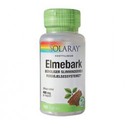 Solaray Elmebark Slippery Elm 400 mg (100 kap)