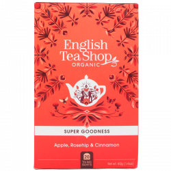 English Tea Shop Apple, Rosehip & Cinnamon Ø (20 breve)