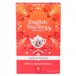 English Tea Shop Beetroot, Apple & Blueberry Ø (20 breve)