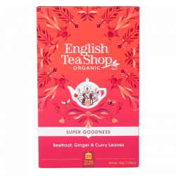English Tea Shop Beetroot, Ginger & Curry Leaves Ø (20 breve)
