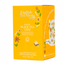 English Tea Shop Black Tea Chai Ø (20 stk)