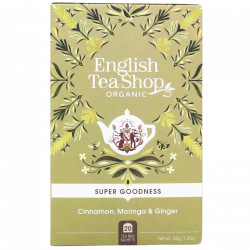 English Tea Shop Cinnamon, Moringa & Ginger Ø (20 breve)