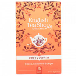 English Tea Shop Cocoa, Cinnamon & Ginger Ø (20 breve)