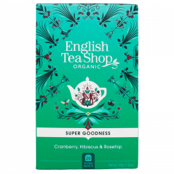 English Tea Shop Cranberry, Hibiscus & Rosehip (20 breve)