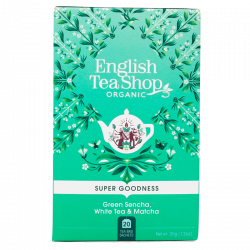 English Tea Shop Green Sencha White Tea Ø (20 breve)