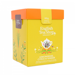English Tea Shop Lemongrass, Citrus & Ginger Ø (80 g)