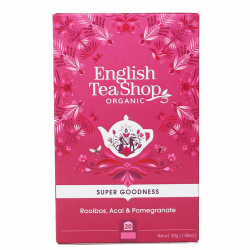 English Tea Shop Rooibos, Acai & Pomegranate Ø (20 breve)
