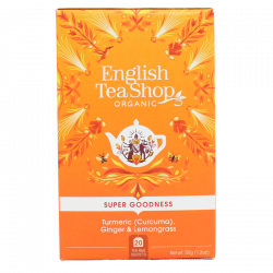 English Tea Shop Turmeric, Ginger & Lemongrass Ø (20 breve)