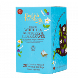 English Tea Shop White Tea Blueberry & Elderflower Ø (20 stk)