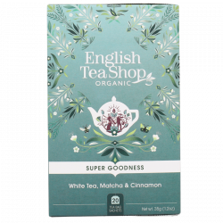 English Tea Shop White Tea, Matcha & Cinnamon Ø (20 breve)
