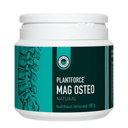 Plantforce Mag Osteo natural - 160 g.