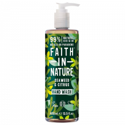 Faith In Nature Håndsæbe Alge Ekstrakt (400 ml)