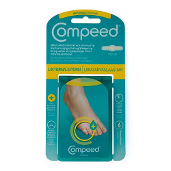 Compeed Ligtorn Moist (6 stk)