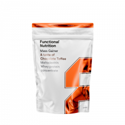 Functional Nutrition Mass Gainer Chocolate & Toffee (2000 g)