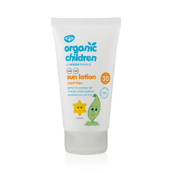 GreenPeople Children's Sun Lotion Scent Free SPF30 (150 ml)