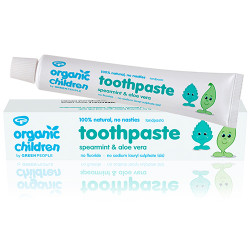 GreenPeople Childrens Spearmint Toothpaste (50 ml) (Helsebixen)