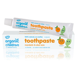 GreenPeople Mandarin Toothpaste with Fluoride (50 ml)