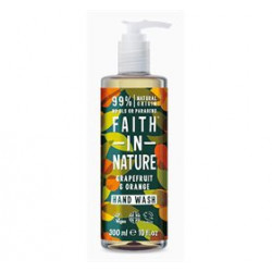 Faith In Nature Håndsæbe Grape & Orange (300 ml)