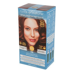 Tints Of Nature Hårfarve 7R Soft Copper Blonde (120 ml)