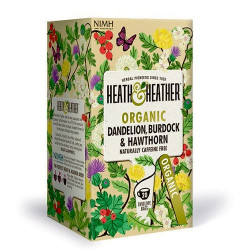 Heath & Heather Dandelion, Burdock & Hawthorn Ø (20 breve)