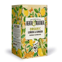 Heath & Heather Lemon & Ginger Ø (20 breve)