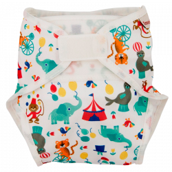 ImseVimse One Size Diaper Cover - Circus (1 stk)