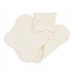 ImseVimse Panty Liners Classic - Natural - 3 pak