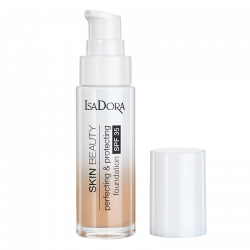IsaDora Skin Beauty Perfecting & Protecting Foundation SPF 35 06 Natural Beige (30 ml)