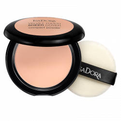 IsaDora Velvet Touch Sheer Cover Compact Powder 43 Cool Sand - 10 g