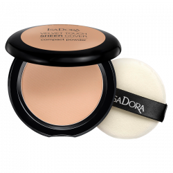IsaDora Velvet Touch Sheer Cover Compact Powder 46 Warm Beige - 10 g