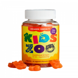 Kids Zoo Omega-3 Gummies Vegansk (60 gummies)
