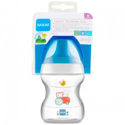 MAM Learn To Drink Cup Blue - 190 ml