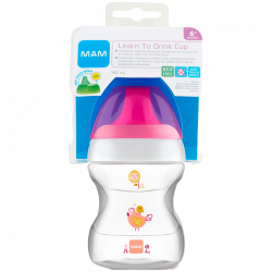 MAM Learn To Drink Cup Pink - 190 ml