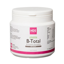 NDS B-Total Vitamin - 250 kaps.