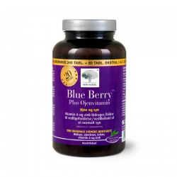 New Nordic Blue Berry Plus Øjenvitamin (240+60 tabs)