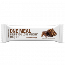 Nupo One Meal bar Brownie Crunch - 60 g