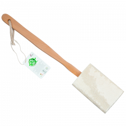 So Eco Flat Loofah With Wooden Handle - 1 stk