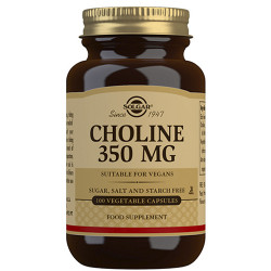 Solgar Choline 350mg (100 kap)