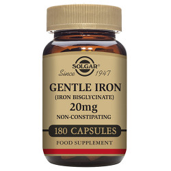 Solgar Gentle Iron 20mg 180kap