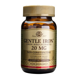 Solgar Gentle Iron (Jern) 20 mg (90 kap)