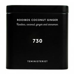 Teministeriet 730 Rooibos Coconut Ginger Tin - 100 g