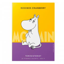 Teministeriet Moomin Rooibos Cranberry - 20 stk