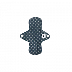 WeeCare Panty Liner Dots Dusty Blue