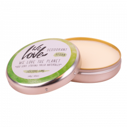 We Love the Planet Lucious Lime Deo-Creme - 48 g