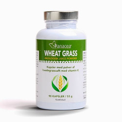 Wheat Grass Juice Kapsler Raw Food (90 kap)