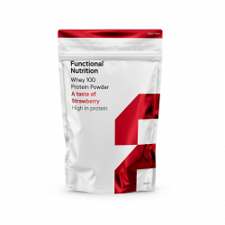 Functional Nutrition WHEY 100 - Strawberry (850 g)