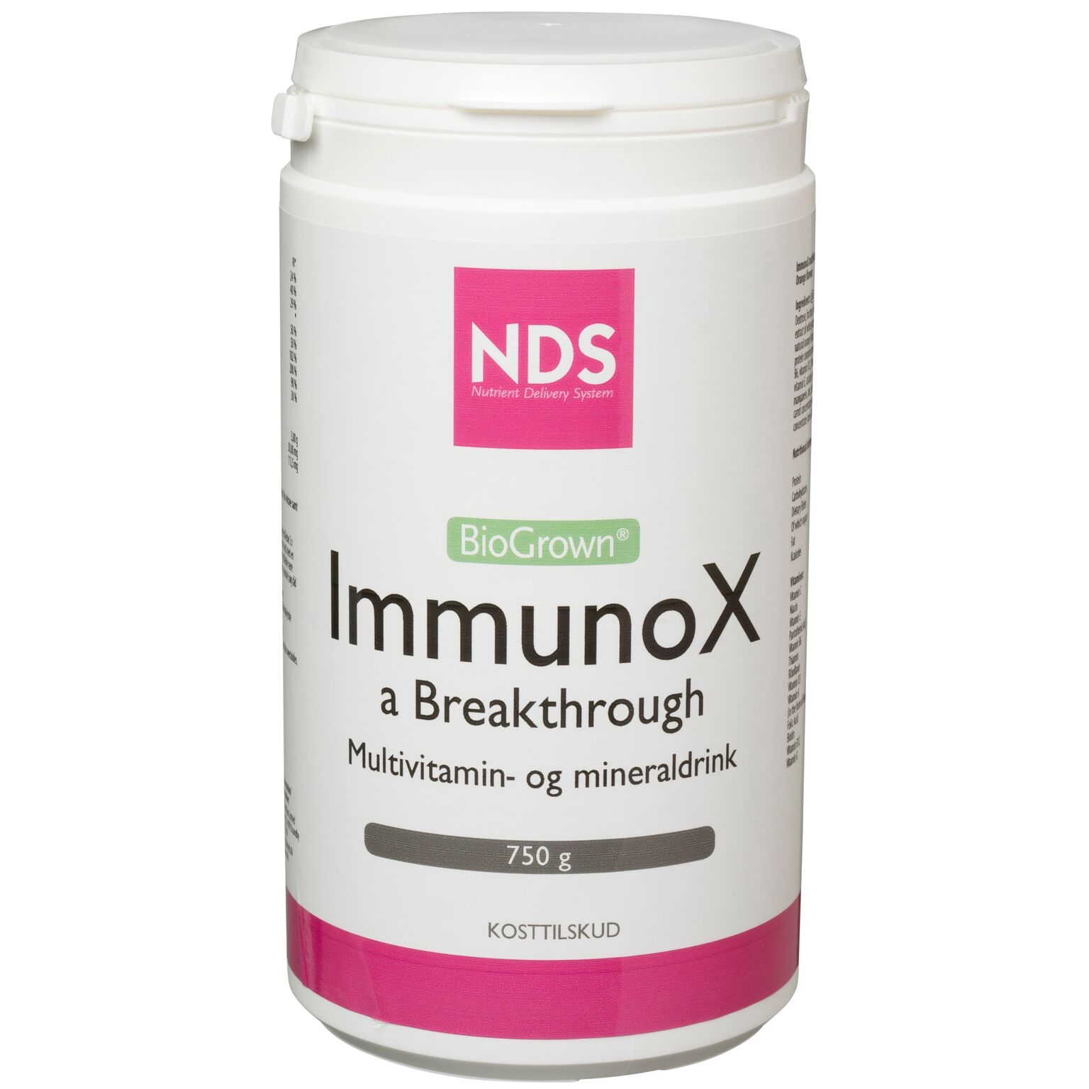 Image of NDS ImmunoX a Breakthrough - 750 gr.