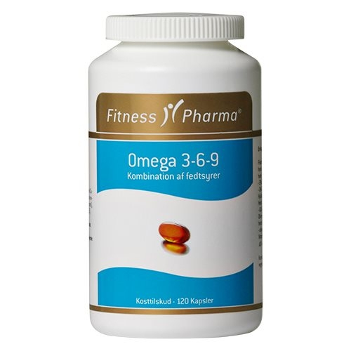 Image of Fitness Pharma Omega 3-6-9 - 120 kaps.